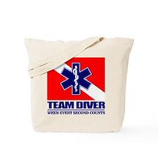 ERT Team Diver Tote Bag
