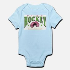 Real Women Play Hockey Infant Bodysuit
