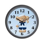 Sailor Monkey Wall Clock