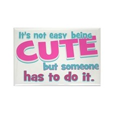 Silly Cute Rectangle Magnet