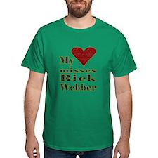 Heart Misses Rick Webber T-Shirt