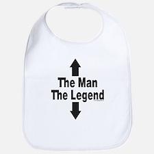 The Man The Legend Bib