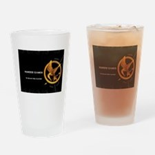hunger games mockingjay Drinking Glass