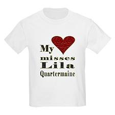 Heart Misses Lila Quartermaine T-Shirt
