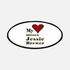 Heart Misses Jessie Brewer Patches