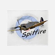 Spitfire Throw Blanket