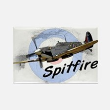 Spitfire Rectangle Magnet