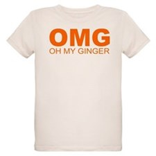 OMG OH MY GINGER GINGERS ARE HOT! GINGERLICIOUS T-
