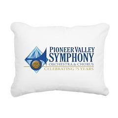 PVS 75th Season Rectangular Canvas Pillow