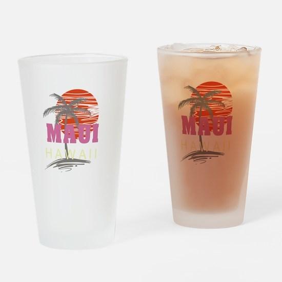 Maui Sunset Drinking Glass