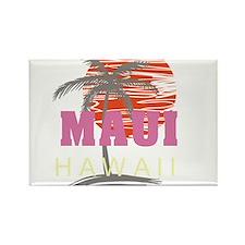 Maui Sunset Rectangle Magnet