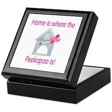Home is where the Peekapoo is Keepsake Box