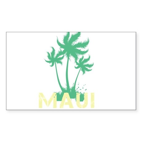 Palm Tree Maui Sticker