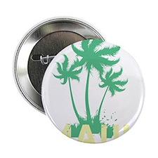 "Palm Tree Maui 2.25"" Button"