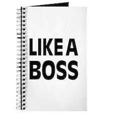 LIKE A BOSS: Journal