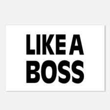 LIKE A BOSS: Postcards (Package of 8)