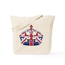 Union Jack Crown Tote Bag