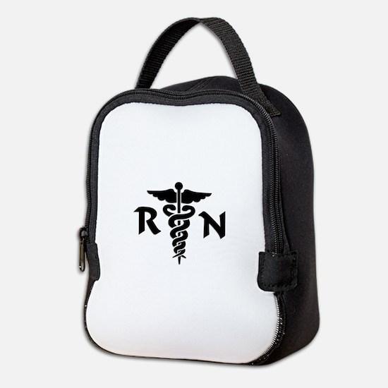 RN Nurse Medical Symbol Neoprene Lunch Bag