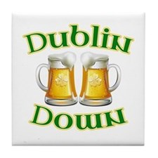Dublin Down Tile Coaster