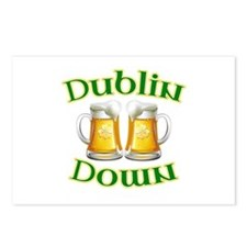 Dublin Down Postcards (Package of 8)