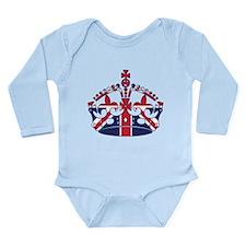 Union Jack Crown Body Suit