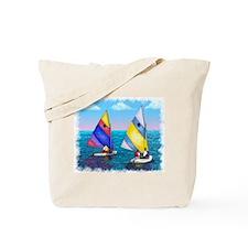 Sunfish Sailboat Tote Bag