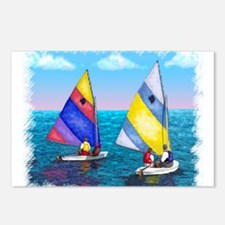 Sunfish Sailboat Postcards (Package of 8)