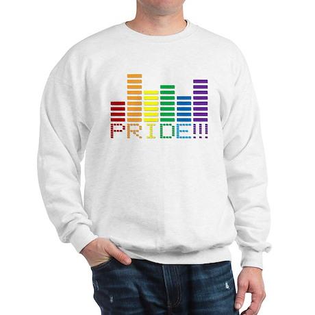 GAY PRIDE RAINBOW SOUND BAR Sweatshirt