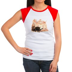 Rountree 1 Women's Cap Sleeve T-Shirt