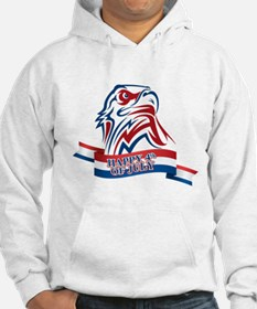 4th Of July Eagle Hoodie