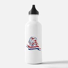 4th Of July Eagle Water Bottle