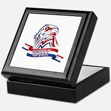 4th Of July Eagle Keepsake Box