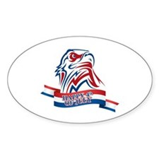 4th Of July Eagle Decal