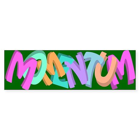 MomentumBSGr Bumper Sticker
