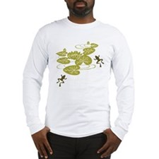 Frogs with Lily pads Long Sleeve T-Shirt