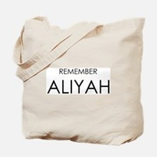 Remember Aliyah Tote Bag