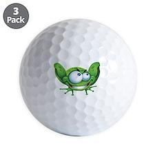 Evil Frog Golf Ball