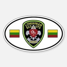 Lithuanian Scouts Decal