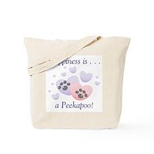 Happiness is...a Peekapoo Tote Bag