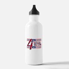 Happy 4th Of July Water Bottle