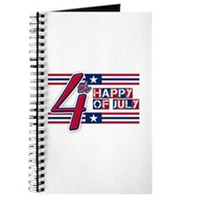 Happy 4th Of July Journal