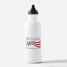 Happy 4th July Star Water Bottle