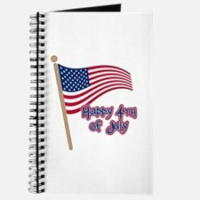 Happy 4th Flag Journal