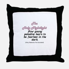 nightlight Throw Pillow
