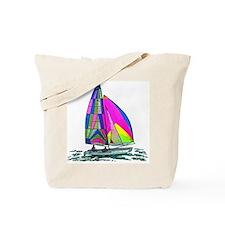 Hobie Cat Design Tote Bag