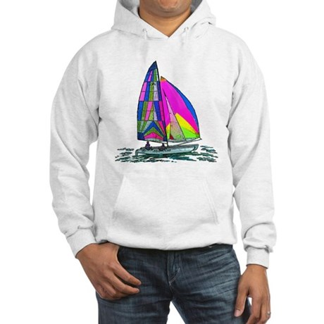 Hobie Cat Design Hooded Sweatshirt