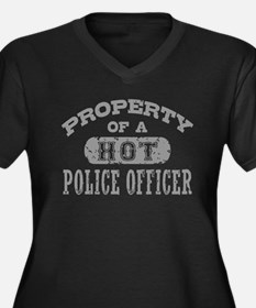Property of a Hot Police Officer Women's Plus Size