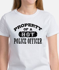 Property of a Hot Police Officer Women's T-Shirt