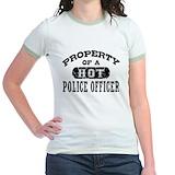 Police Jr. Ringer T-Shirt