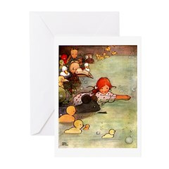 Attwell 3 Greeting Cards (Pk of 10)